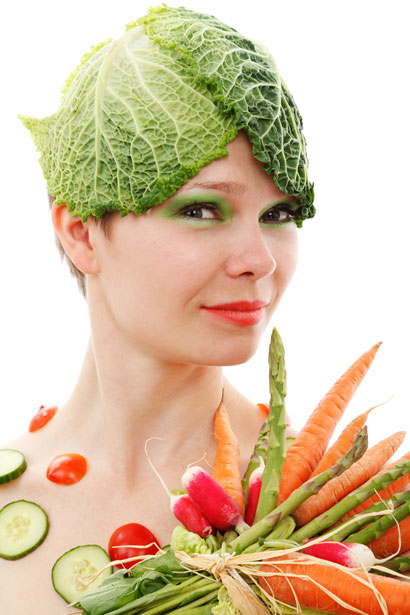 vegetable-girl